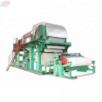 China 12.8*7.7*5.8m 2400mm Toilet Paper Manufacturing Machine on sale