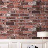 Best Eco-friendly waterproof cheap price brick/stone style PVC vinyl wall paper wholesale