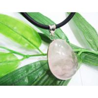 Cheap Ladyies Gemstone Charm Rose Quartz Necklace Pendant,  Agate Pendants for sale