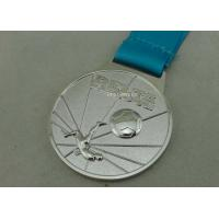 Best Customized Ribbon Football Awards Medals Full Relief Zinc Alloy wholesale