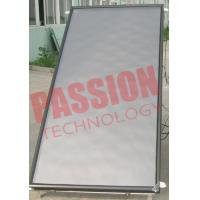 Best Red Copper Flat Panel Solar Collector , Solar Hot Water Collector Easy Operation wholesale