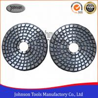 Best 4 Inch Metal Bond Diamond Polishing Pad , Polishing Tools for Stone and Concrete wholesale