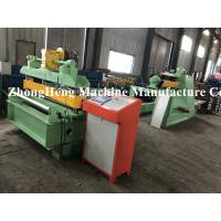 Quality PLC control  Leveling and cut to length machine with hydraulic decoiler wholesale