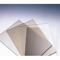 Cheap Anti Scratch Polycarbonate Solid Sheet / Pc Solid Sheet  For Commercial Streets for sale