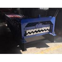 Best 0.8mm Thickness Sheet Roll Forming Machine 4 Ton Capacity 7-12m / Min Working Speed wholesale