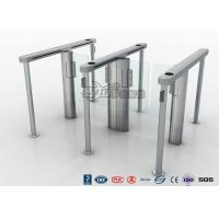 Cheap Slim Speed Gate Turnstile , Access Management Automatic Swing Gates with consumption system for sale