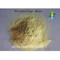 Fitness Steroids Trenbolone Powder Tren Base Cas 10161-33-8 Yellow Powder