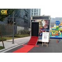 China Truck Mobile 7D Cinema Ride Film Watching Theater 220V / 380V 10 KW on sale