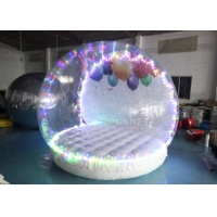 Best Human Size Hotel Inflatable Snow Globe Tent Christmas LED Lighting wholesale