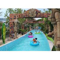 Best Funny Water Park Lazy River , Children And Adults Lazy River Swimming Pool wholesale
