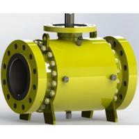 Best Safe Carbon Steel  Trunnion Mounted Ball Valve with Self Relieving Seat Rings wholesale
