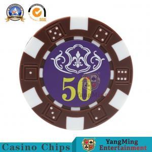 Durable Plastic Casino Poker Chip Set Ceramic Rfid UV Security Code Stickers