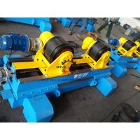 Quality Hydraulic Anti Axial Float Turning Rolls Welding 10 Ton Load Capacity wholesale