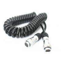 Best TPU Jacket Retractable Coil Cord For Truck Trailer Power Signal Transmission wholesale