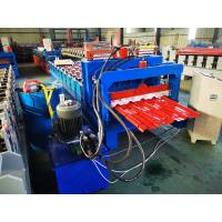 Best Hydraulic Cutting Steel Glazed Tile Roll Forming Machine CNC Control Style wholesale