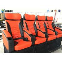 Best Motion Chair With Horrible / Adventure Movie 4D Cinema Equipment Unique Design wholesale