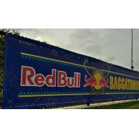 Best SGS Promotional Mesh Vinyl Banner Great For Windy Outdoor Locations wholesale