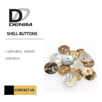Buy cheap Akoya Shell White Pearl Natural Color Buttons Classic Round 2 Holes from wholesalers