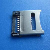Best micro pcb SD push sim card connector 8pin smt,mini sd card socket,smc card,TF Card connector wholesale