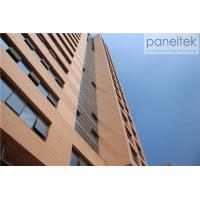 Buy cheap External Decorative Terracotta Facade Panels , Exterior Wall Cladding Sheets from wholesalers