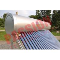 Best Pvc Pipe Solar Water Heater Glass Tubes , Home Solar Water Heating Systems wholesale