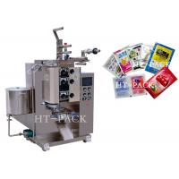 Best Stainless Steel Automatic Liquid Packing Machine For Sauce / Vinegar / Oil Bag wholesale