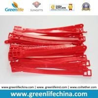 Best Baggage Tag Accessory Promotional Soft PVC Belt Holder in Red wholesale