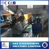 T Bar Purlin Roll Forming Machine Gear Or Chain Drive Type With Manual Decoiler