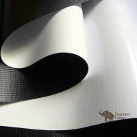Best Soft White / Black 0.40mm Woven Polypropylene Roll Layer Matte Surface wholesale