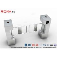 Best RFID Biometric Swing Barrier Gate , Bank Bridge Access Control Turnstile wholesale