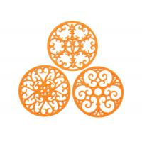 Best Silicone Trivet Set For Hot Dishes   Modern Kitchen Hot Pads For Pots & Pans wholesale