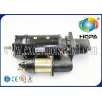 Best Caterpillar E325 C7 Excavator Starter Motor Metal Material Silver Color wholesale