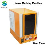 Quality sealed design popular Fiber Laser Marking Machine laser engraving machine for plastic/metal/PVC wholesale