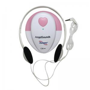 China Ultrasonic Pocket Fetal Doppler Angelsounds Fetal Doppler JPD-100S  3MHz Baby heart monitor FHR New LCD Display on sale