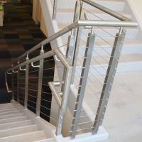 Best Cheap Balcony Stainless Steel Railing Design with Cable Fittings wholesale