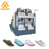 8 Stations Shoe Sole Making Machine Production Line For EVA Slipper / Sandals /