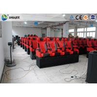 Best Animation 5D Digital Theater System Simulator With Stimulating Electric Motion Seats wholesale