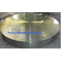Buy cheap Tube Sheet Double Stainless Steel Forged Disc 1.4462, F51, S31803; F60, S32205; F53, S32750 from wholesalers