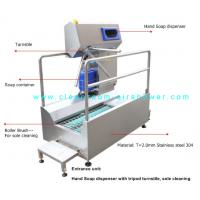 Buy cheap Passage Boot Sole Washer , Sole Cleaning Machine For Entrance Unit In Food from wholesalers