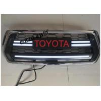 Best Chrome Front Grill Mesh For 2018 Toyota Hilux Revo Rocco With LED Turning Lights wholesale