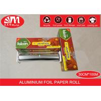 Recyclable Catering Aluminium Foil Roll 30cm X 15 Micron X100m Food Wrapping