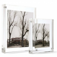Best Clear Perspex 4x6'' Acrylic Magnetic Picture Frame Home Dept wholesale