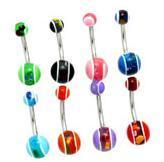 China Body Piercing Jewelry / Belly Ring on sale