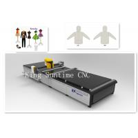 No Laser Textile Cutting Machine 4000rpm / Min Speed Yellow Color