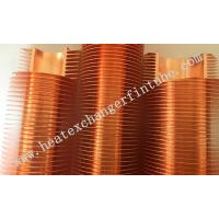 Quality B111 C12200 OD 1'' Tube Carbon Steel / Copper Extruded Finned Tubes wholesale