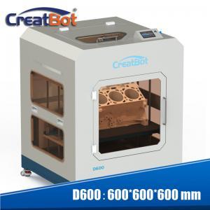 Cheap 110-220V Nylon Printing Machine , Industrial CreatBot D600 3D Printer for sale