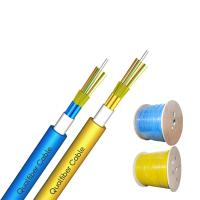 Best Multi Tube Breakout Tight Buffer Indoor Optical Fiber Cable GJFPV Blue / Yellow Color wholesale