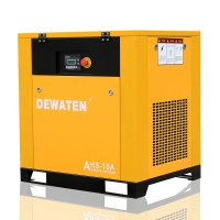 Best China good price stationary 10hp 7.5kw screw air compressor 8bar wholesale