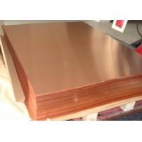 China High performance Copper Sheet Plate , 0.2-120mm Copper Alloy Sheet TP2 C12200 C1220 on sale