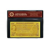 Best 24k Gold Banknote with 10 COMMON WEALTH OF AUSTRALIA wholesale